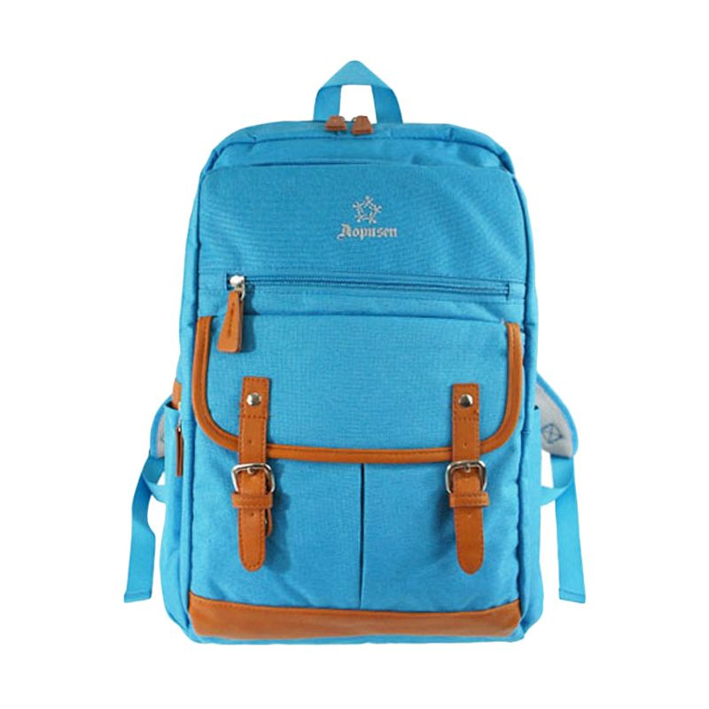 Aopusen Backpack AA-11158 Blue Tas Ransel