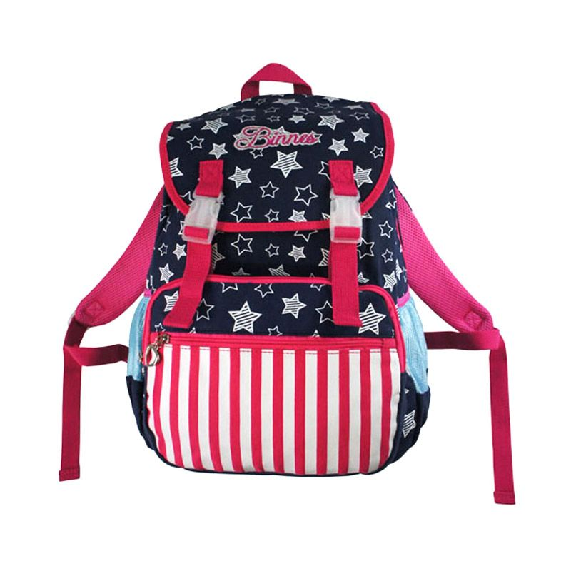Aopusen Backpack BA-21316 Navy Blue Tas Ransel