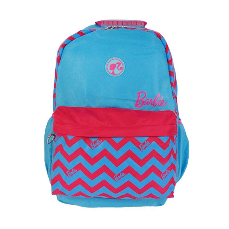 harga Barbie BA-21304-25 Blue Pink Tas Sekolah [17.5 Inch] Blibli.com