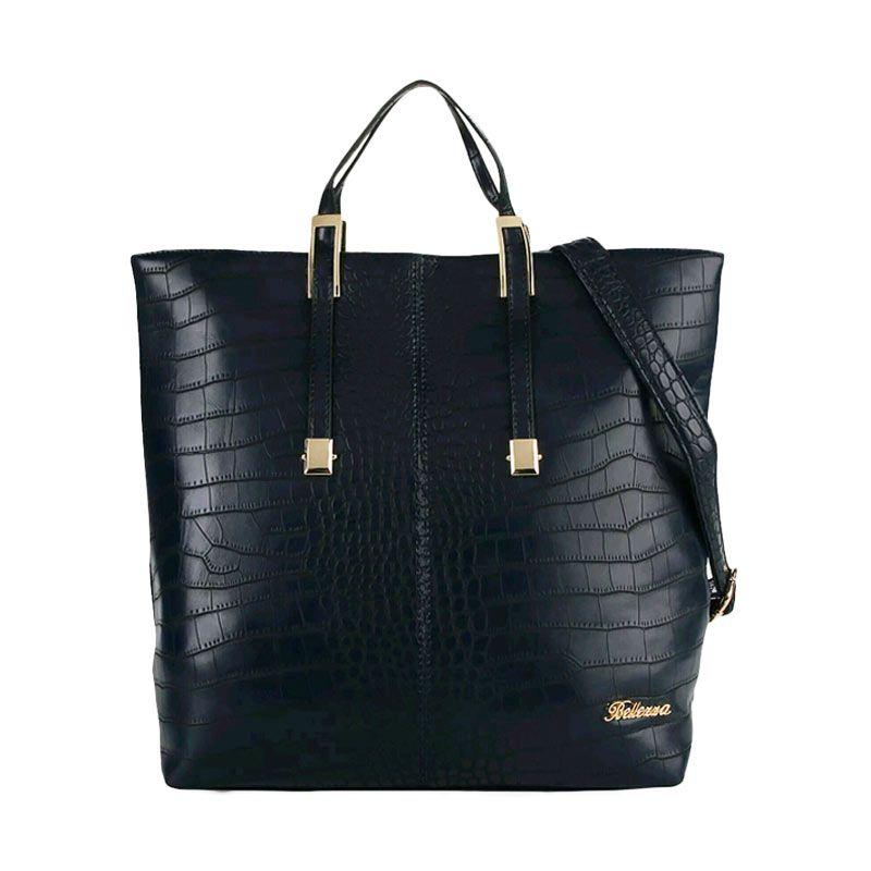 harga Bellezza 1276-38 Handbag Navy Blue Tas Tangan Wanita Blibli.com
