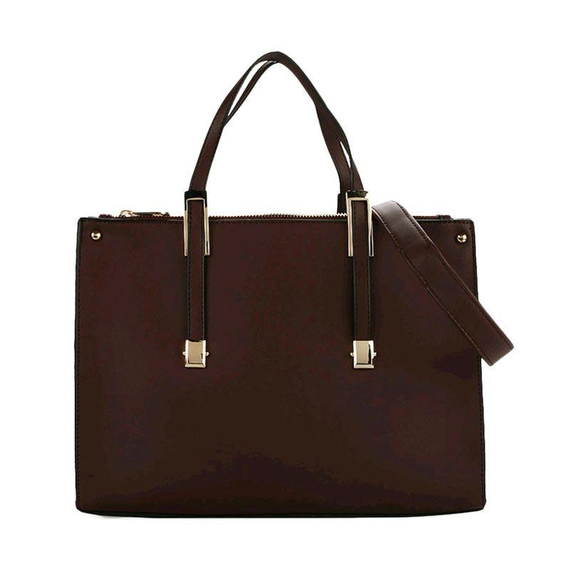 Bellezza 1291-38 Handbag Daru Coffee Tas Tangan Wanita