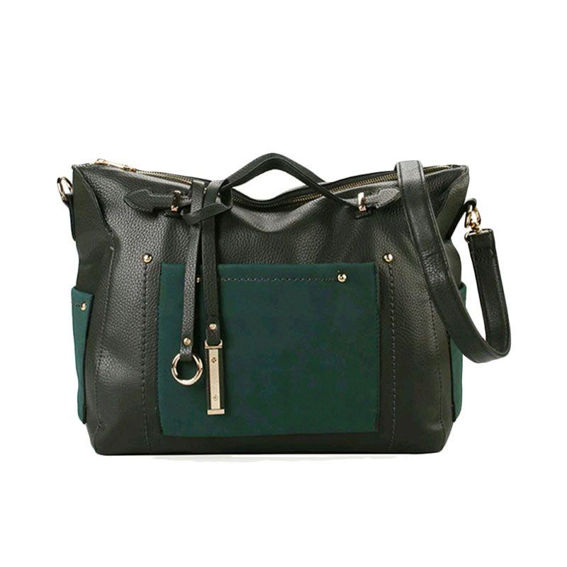 Bellezza 1304-38 Green Handbag Tas Tangan