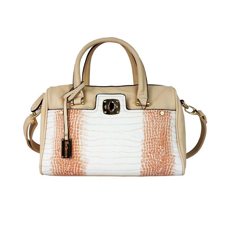 Bellezza CZ-17332 D Beige Hand Bag Tas Tangan
