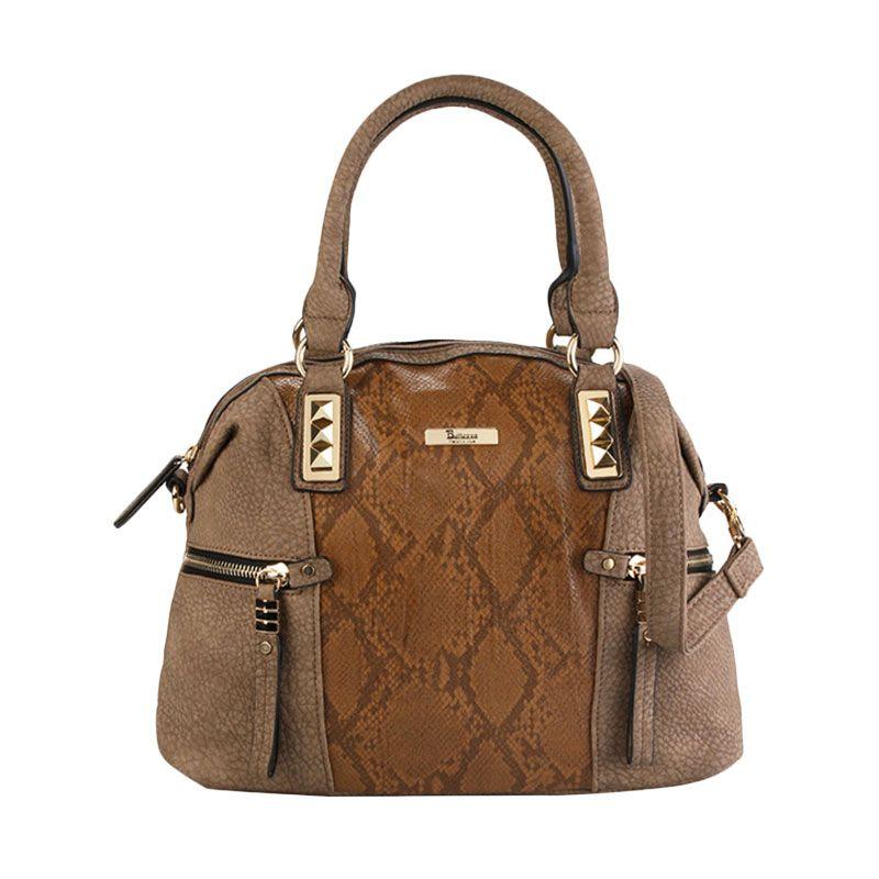 Bellezza CZ2318-2 Handbag Off White Tas Tangan Wanita