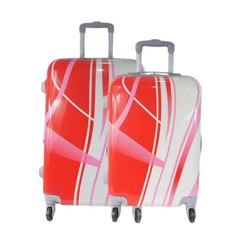 Bruno Manfred Stripped SX002-08 Red White Set Koper [20 dan 24 Inch]