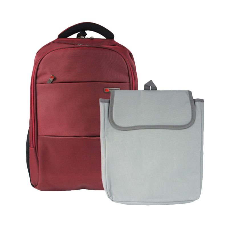 Polo Classic 18041-21 Red Tas Ransel