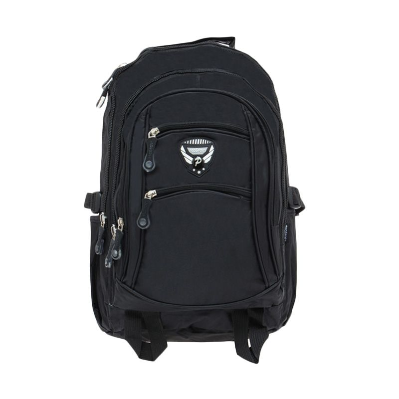 Prosport 10JM171-07 Black Backpack Tas Ransel