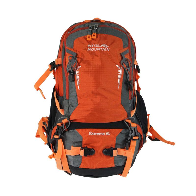 Jual Royal Mountain 8332 22 Orange Backpack Tas Ransel