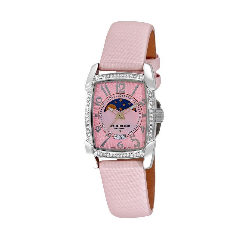 Stuhrling Carnegie Uptown Pink Jam Tangan Wanita