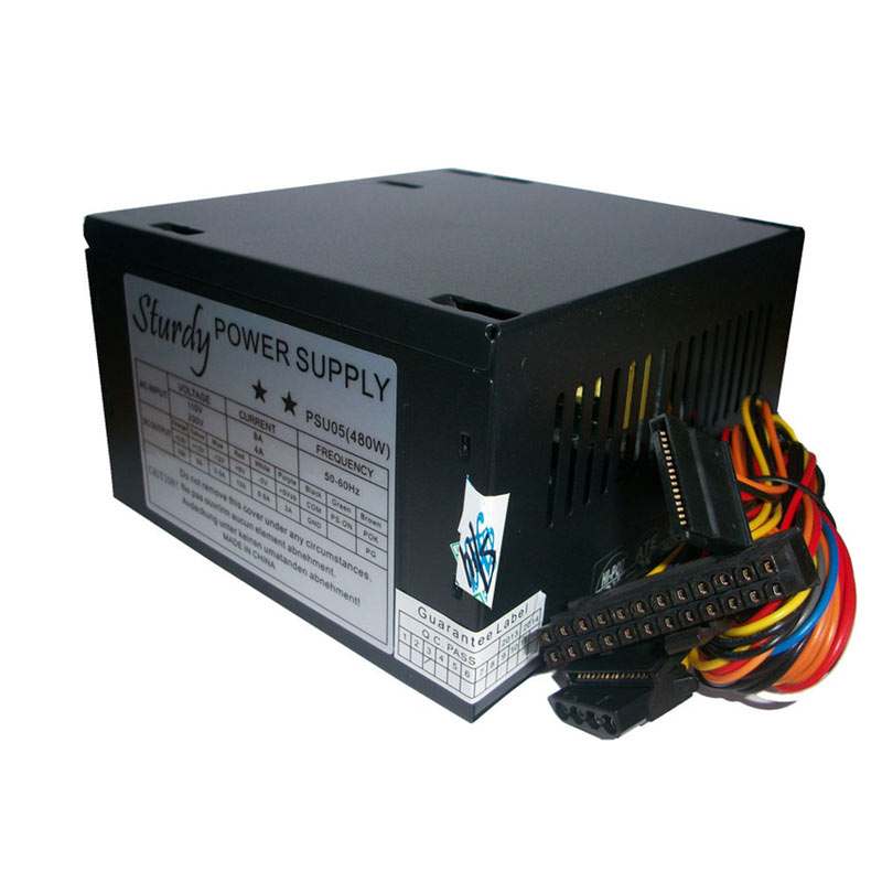 Sturdy PSA Power Supply - Hitam [480 Watt]