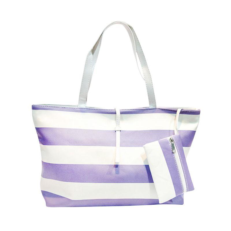 Yubenobe Harriet Purple Tote Bag Tas Tangan