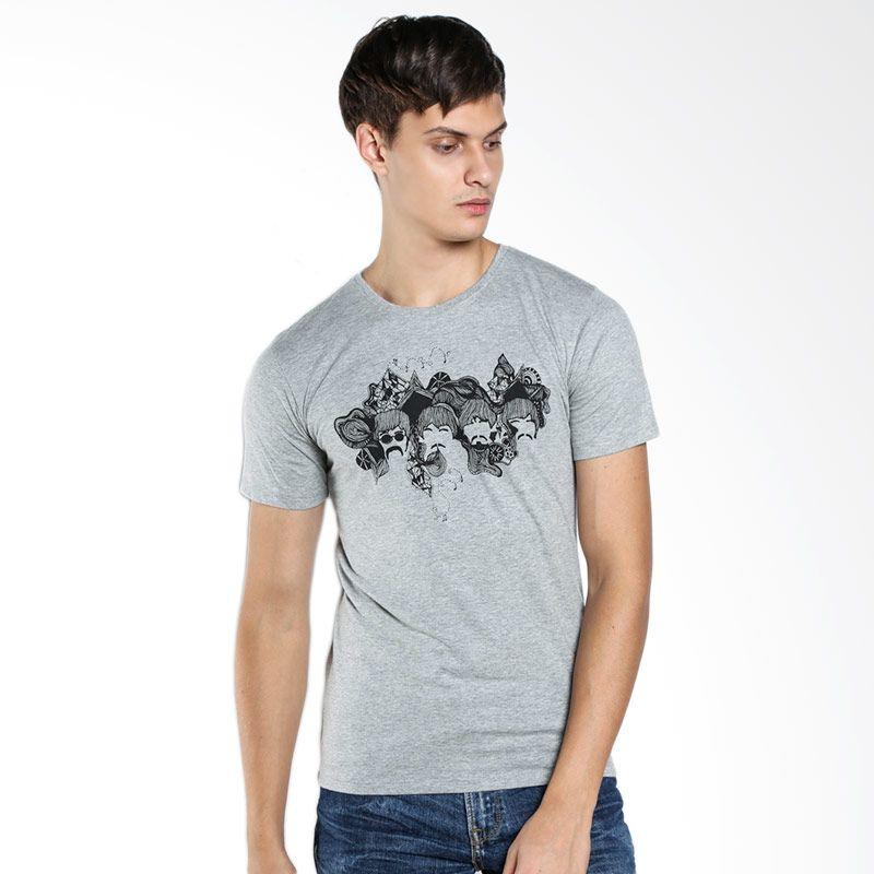 Subliminal 111114 Different but the Same Grey T-shirt Extra diskon 7% setiap hari Extra diskon 5% setiap hari Citibank – lebih hemat 10%