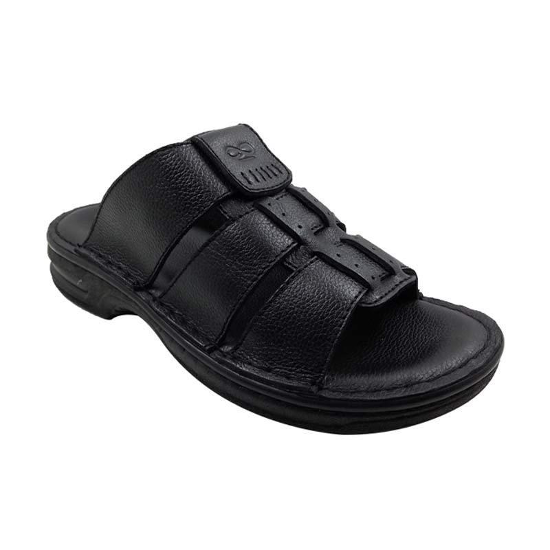 Sui Sui BSD 8340 Black Sandal Pria