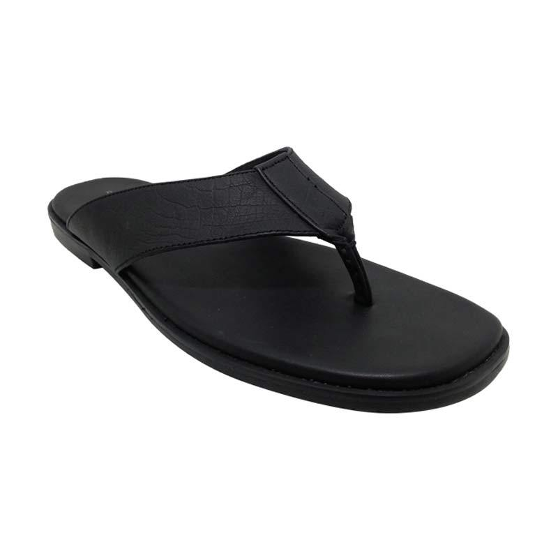 Sui Sui BSF 8320 Black Sandal Pria