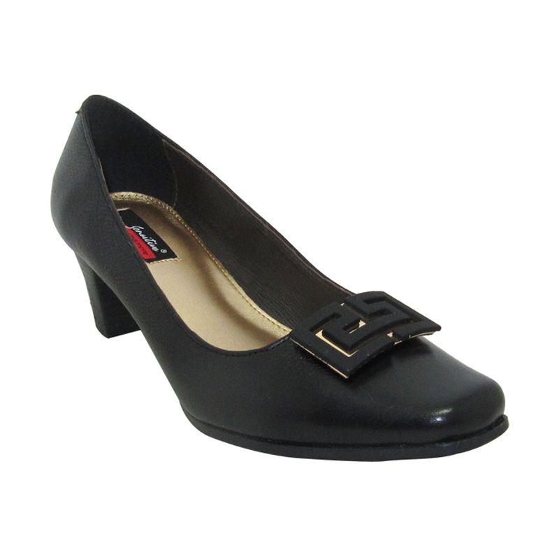 Sui Sui Monica 503 Black Sepatu Heels