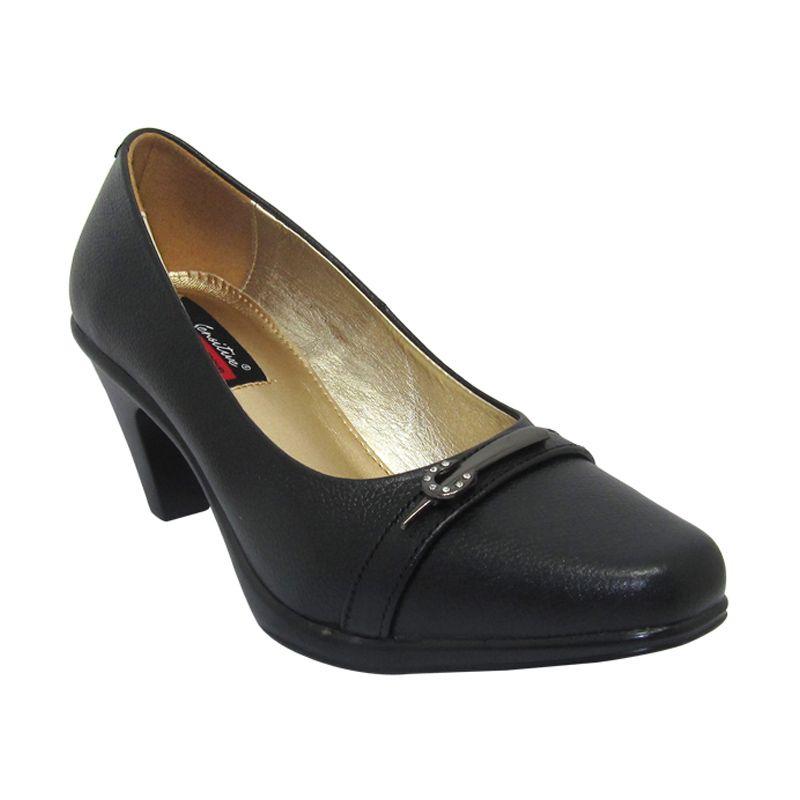 Sui Sui Paula 701 Black Sepatu Heels