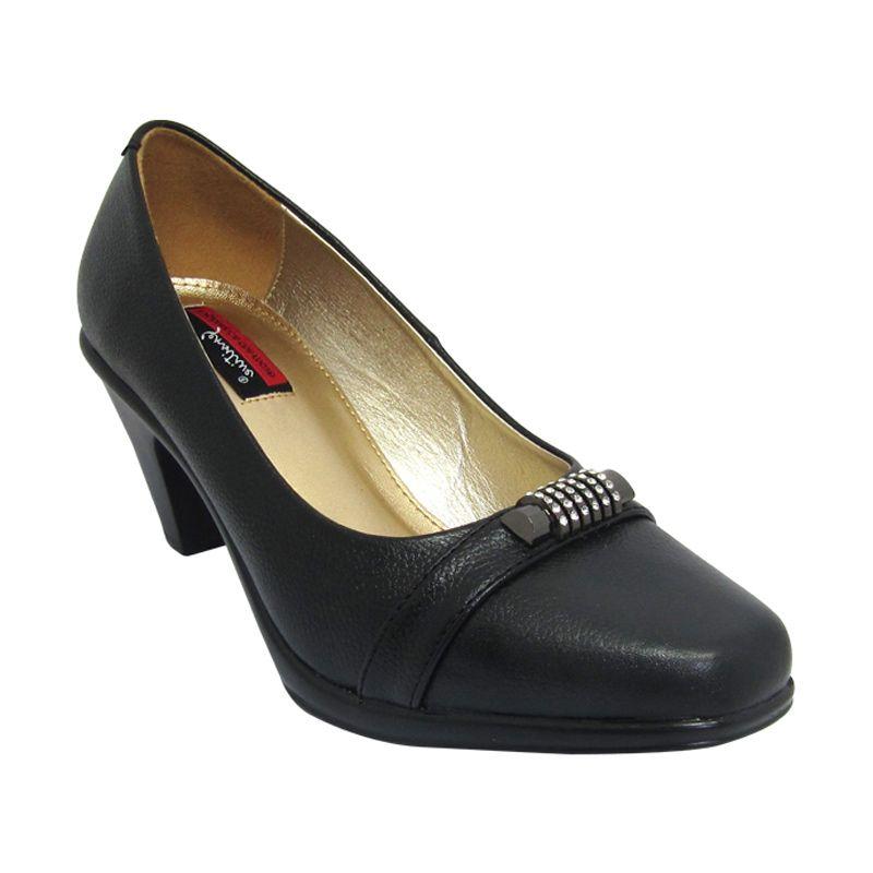Sui Sui Tania 702 Black Sepatu Heels