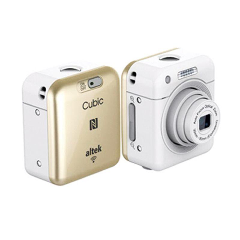 Altek Cubic Smart Mini Wireless Cube Camera Selfie Gold
