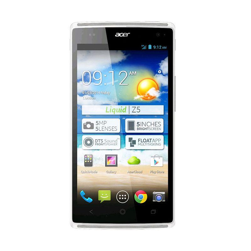 Acer Z150 Liquid Z5S Putih Smartphone