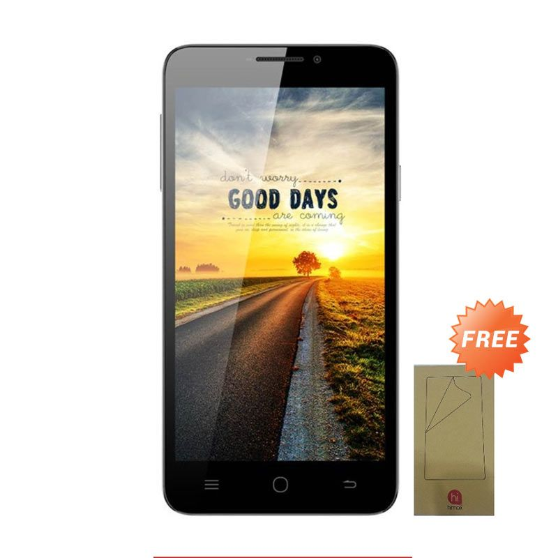 Himax Polymer X Putih Smartphone [Dual SIM/16 GB] + Screen Guard