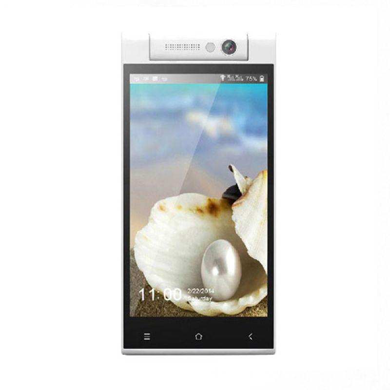 Himax Pure III Putih Smartphone + Screen Guard dan lainnya