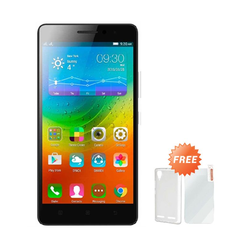 Lenovo A7000 Plus Spesial Edition Hitam Smartphone [16 GB] + Casing + Screen Guard