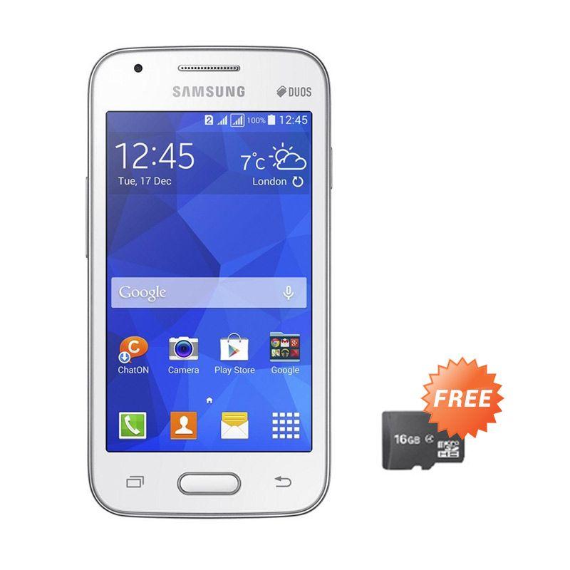 Samsung Galaxy V G313 White Smartphone + Memory Card