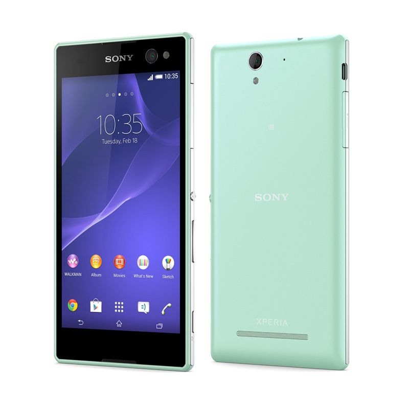 Sony Xperia C3 D2502 Mint Smartphone [Dual SIM]