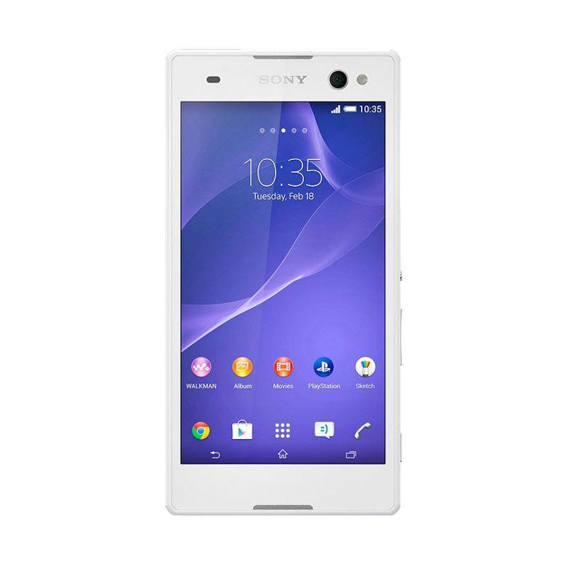 Sony Xperia C3 D2502 Putih Smartphone [Dual SIM]