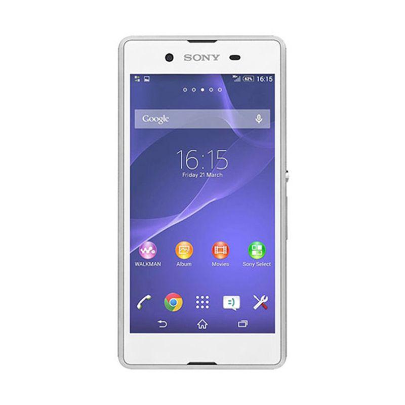 Sony Xperia E3 D2202 Putih Smartphone [Single SIM]