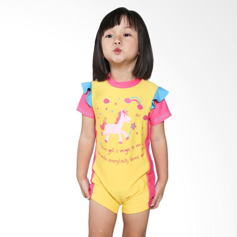 harga Summer Chicks Starfish Magic Unicorn KTS-380-A Baju Renang Anak - Yellow Blibli.com