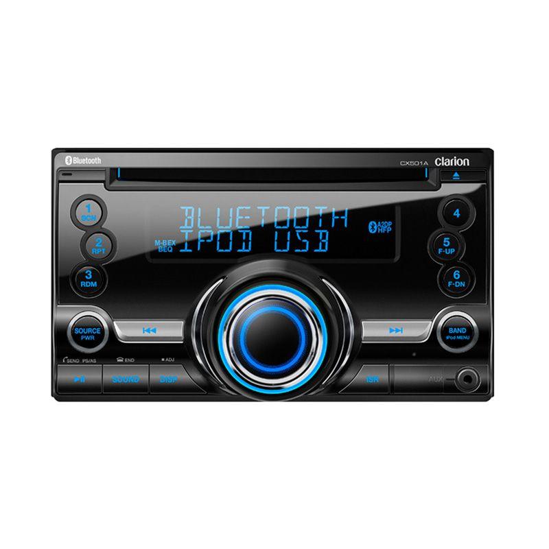 Jual Clarion CX 501A Head Unit Double Din Bluetooth A2DP
