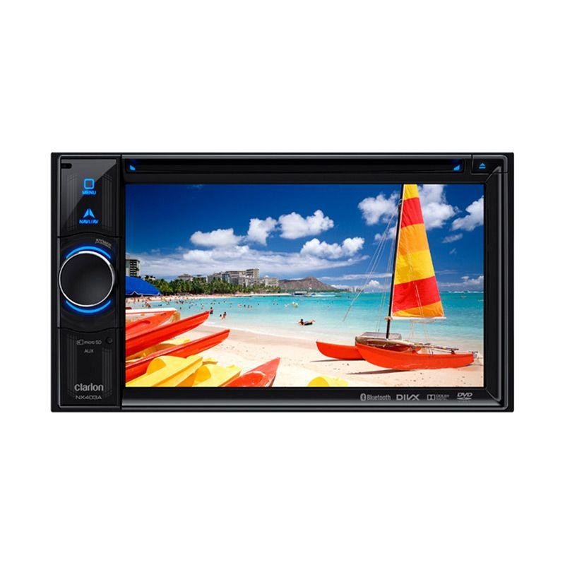 harga Clarion NX 403A Head Unit Double Din [GPS Nav/Bluetooth A2DP/HDMI] Blibli.com