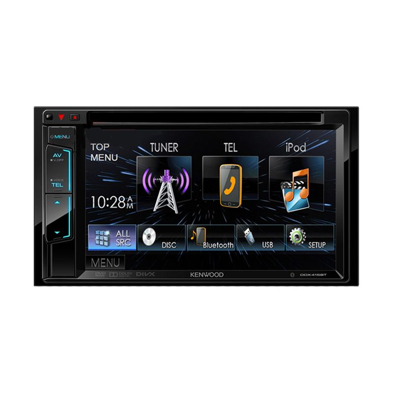 Kenwood DDX415BT LED Display Double Din [6.2 Inch]