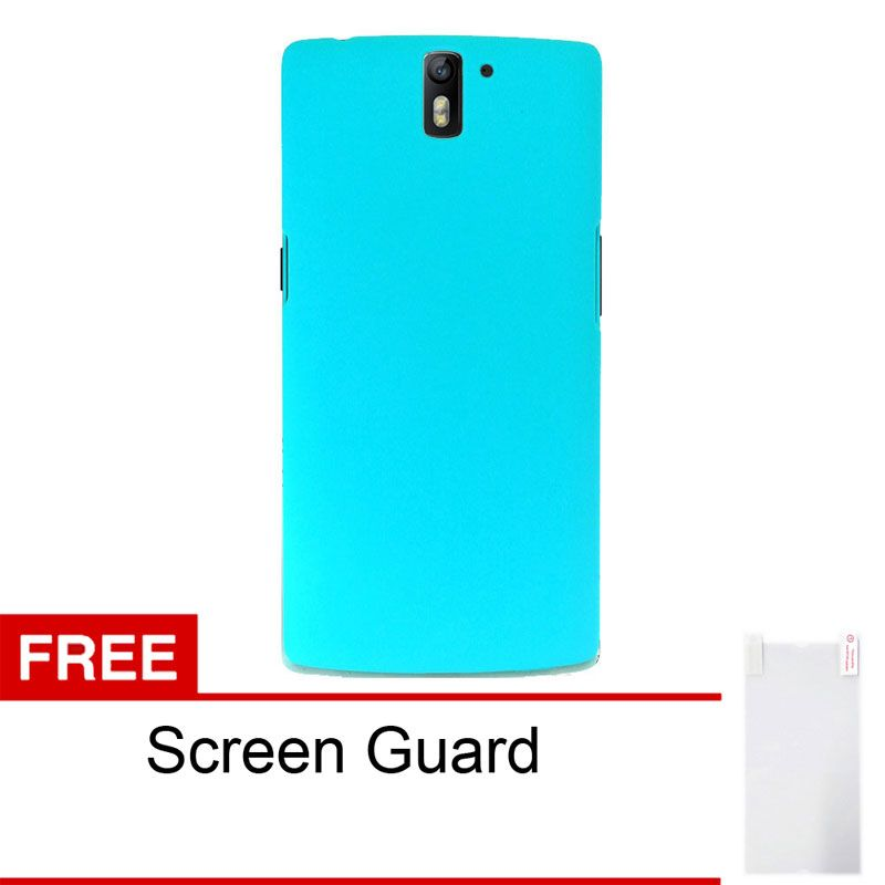 Sunrise Blue Casing for OnePlus One + Screen Guard