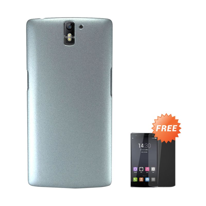 Sunrise Grey Casing for One Plus One + Tempered Glass