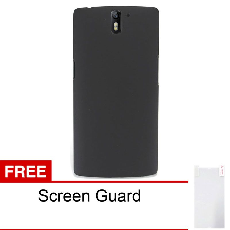 Sunrise Hitam Casing for OnePlus One + Screen Guard