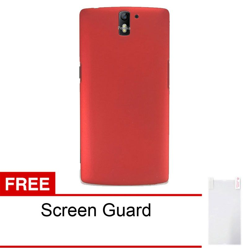 Sunrise Merah Casing for OnePlus One + Screen Guard