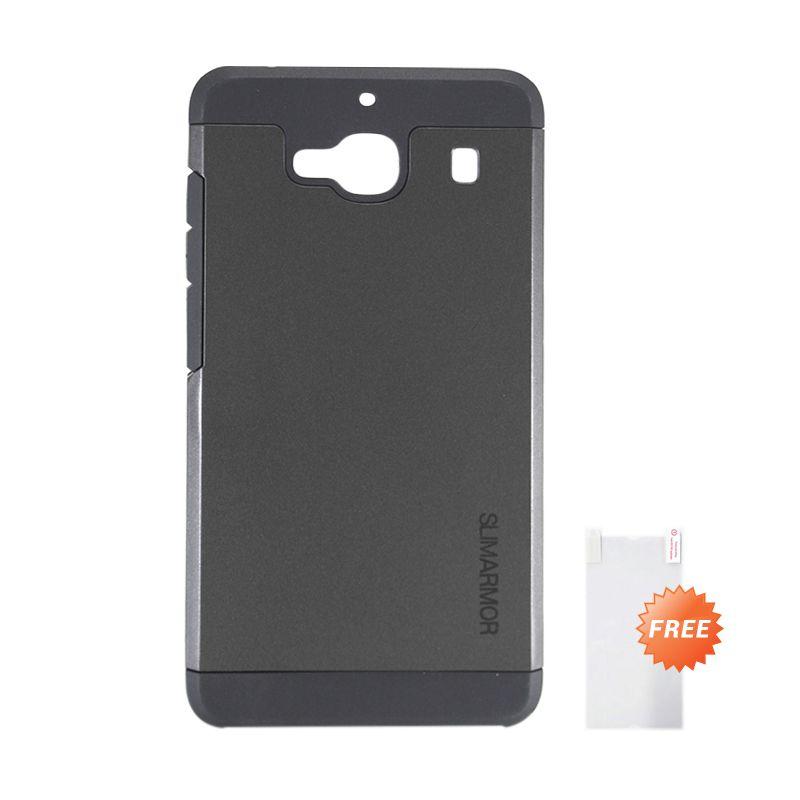 Sunrise SGPSlim Armor Black  Hard Case Casing for Xiaomi Redmi 2S + Screenguard