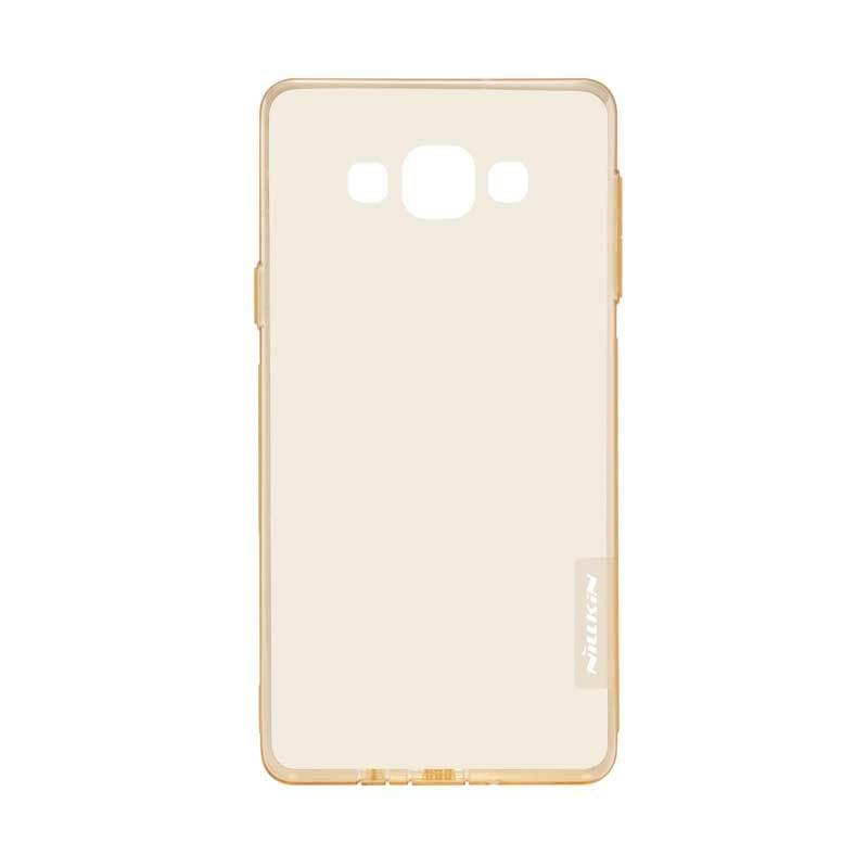 Nillkin Nature TPU Brown Transparan Casing for Samsung Galaxy E7