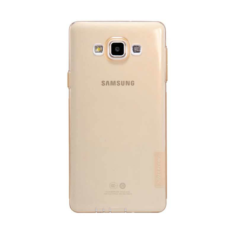 Nillkin Nature TPU Brown Transparan Soft Casing for Samsung Galaxy A7