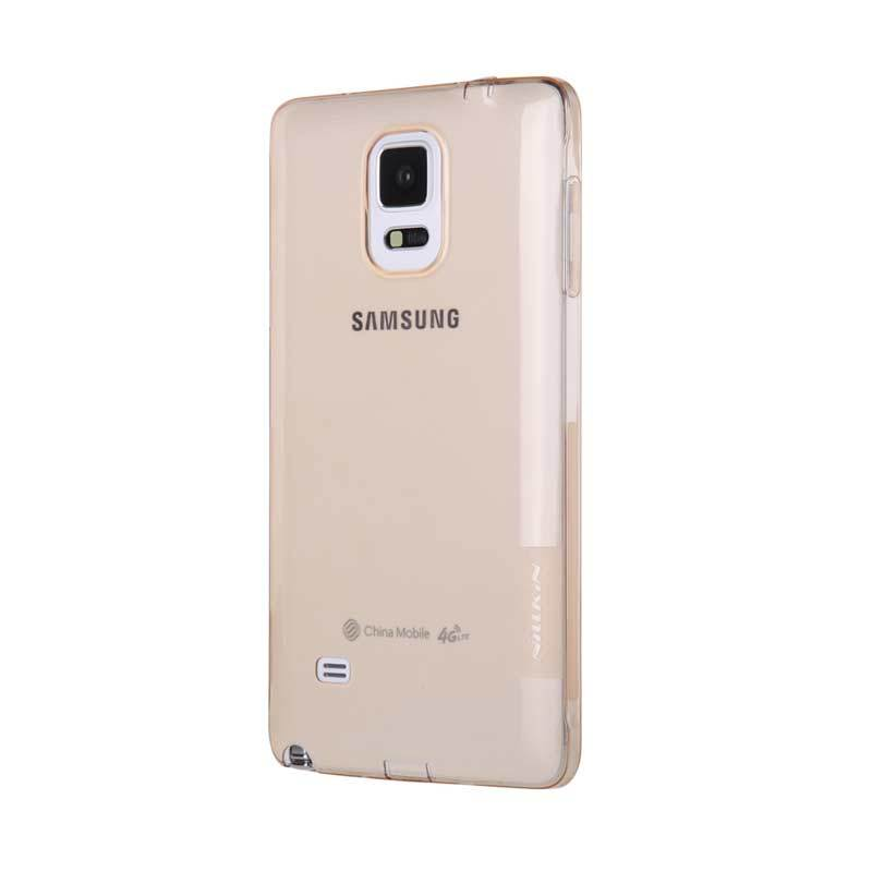 Nillkin Nature TPU Brown Transparan Soft Casing for Samsung Galaxy Note 4