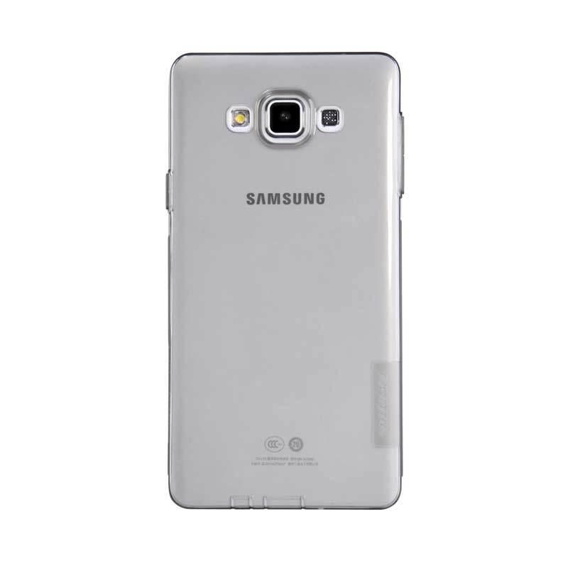 Nillkin Nature TPU Grey Transparan Soft Casing for Samsung Galaxy A7