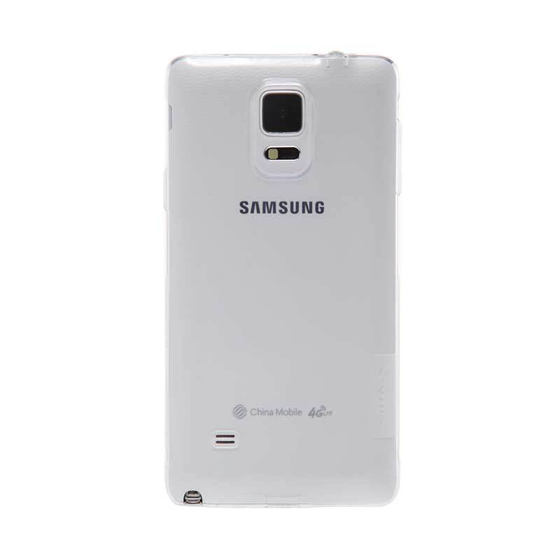 Nillkin Nature TPU White Transparan Soft Casing for Samsung Galaxy Note 4