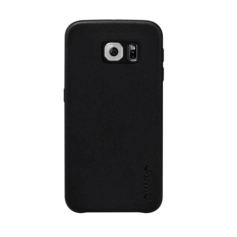 Nillkin Victoria Leather G920F Hitam Casing for Galaxy S6