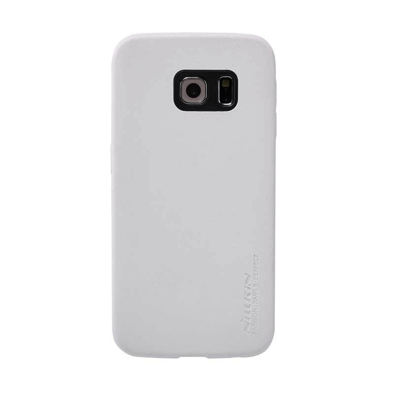 Nillkin Victoria Leather Putih Casing for Galaxy S6 Edge