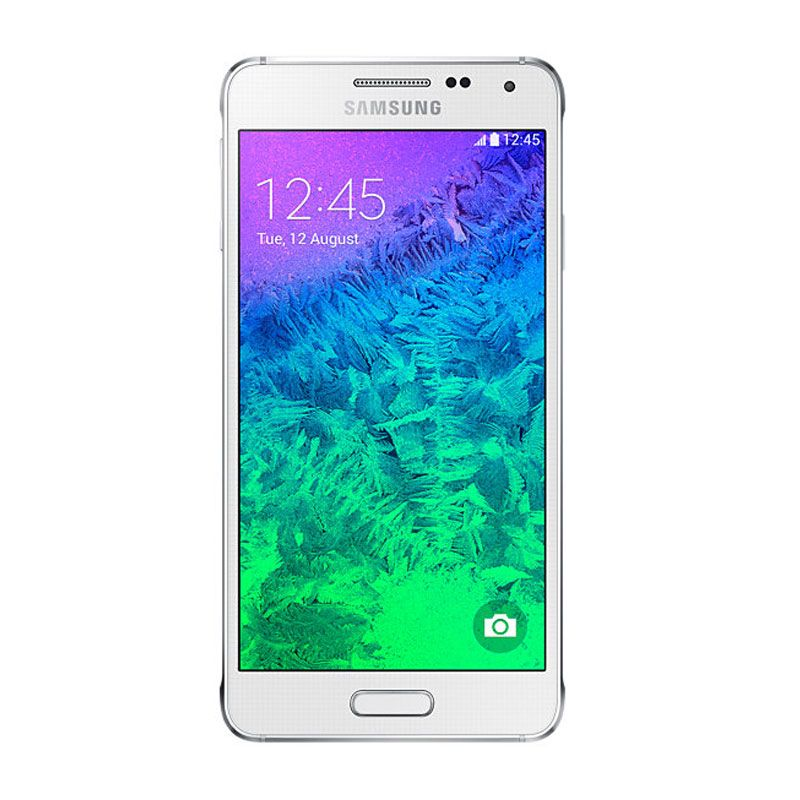 Samsung Galaxy Alpha SM-G850F Putih Smartphone
