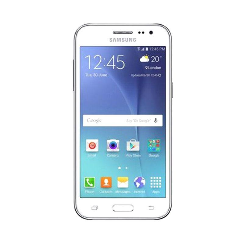 Samsung Galaxy J2-J200G White Smartphone