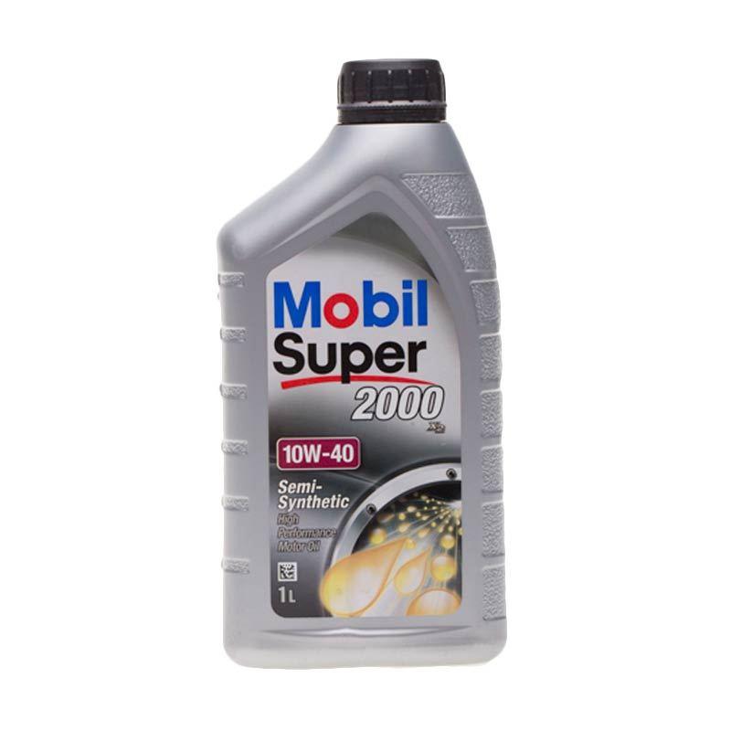 Mobil Super 2000 SAE 10W/40 Oli Pelumas [1 L]