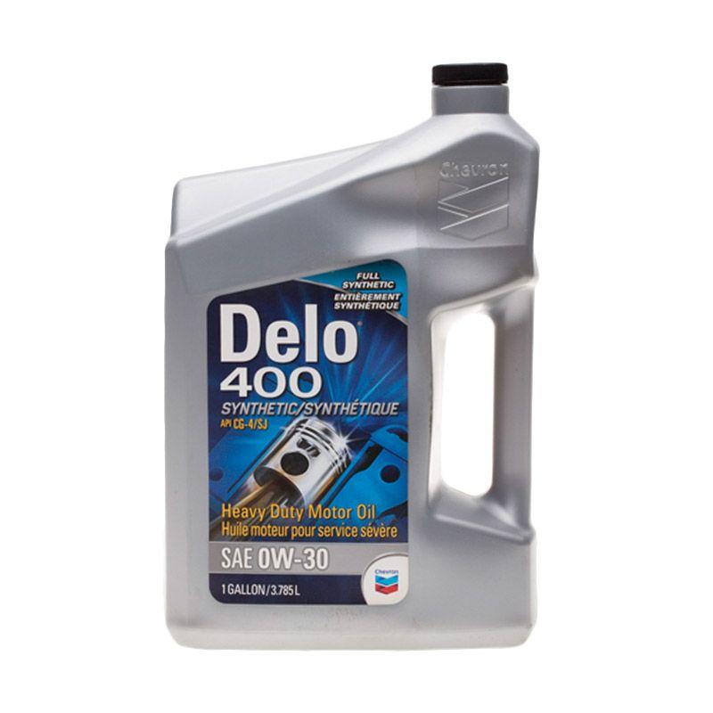 Chevron Dello 400 SAE 0W/30 [4 Liter] Oli Pelumas